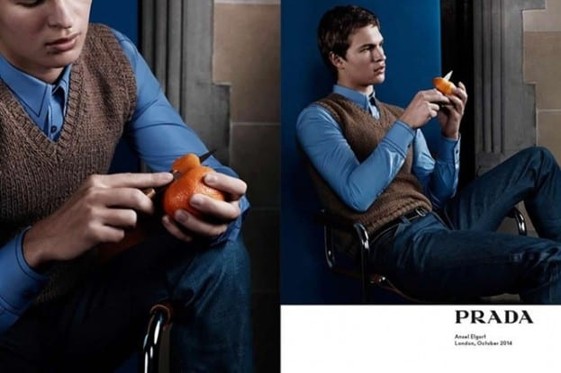 Watch Behind-The-Scenes Footage Of Prada Menswear Campaign Shoot
