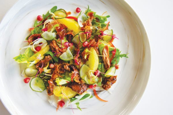 Asian Spice Duck Salad