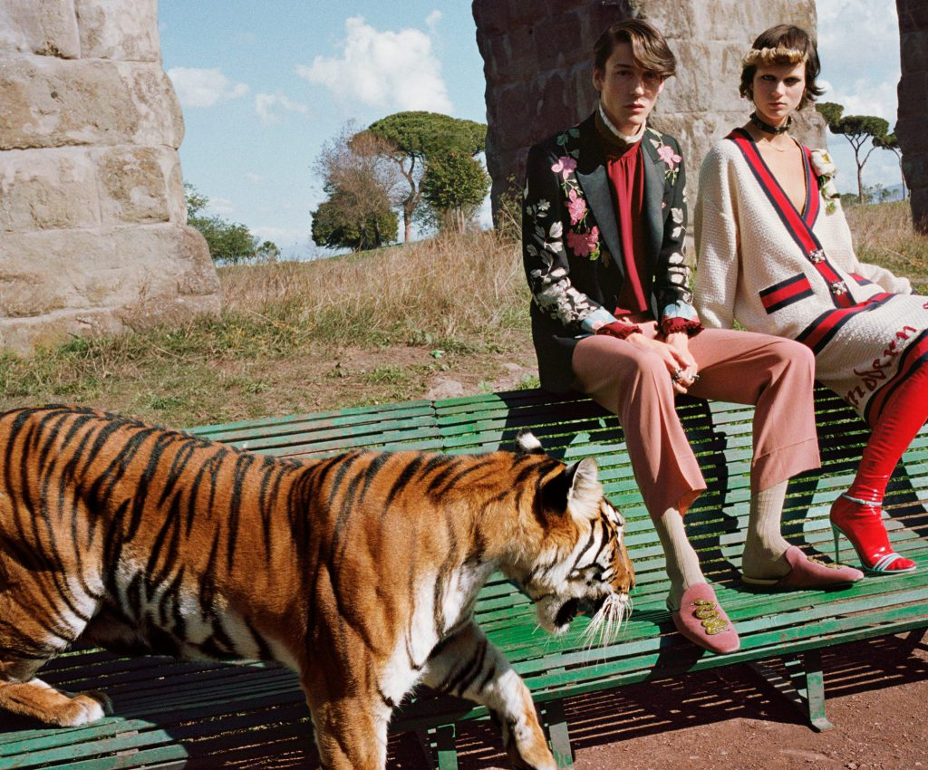 Gucci Hits Rome For Spring Summer 2017 Campaign