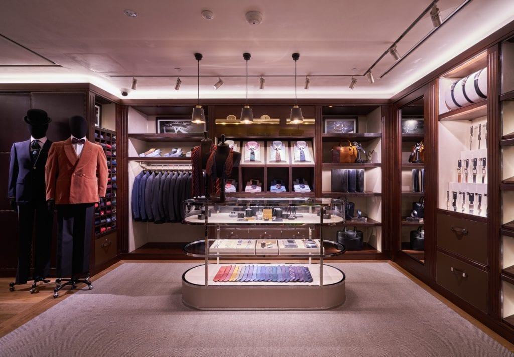 New Look For Dunhill Store at Paragon, Singapore