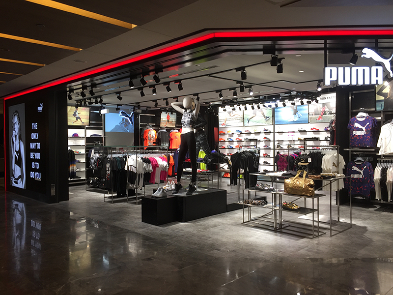 Sports shops in Singapore: Puma opens two new outlets in Paragon and Bugis+