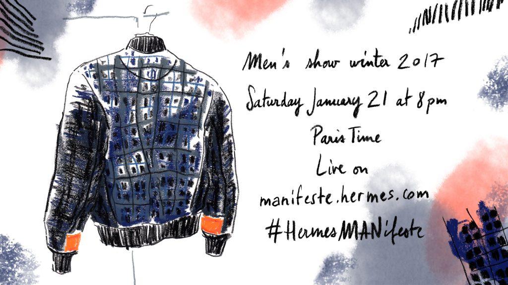 [Livestream] Catch Hermès FW 2017 show live from Paris