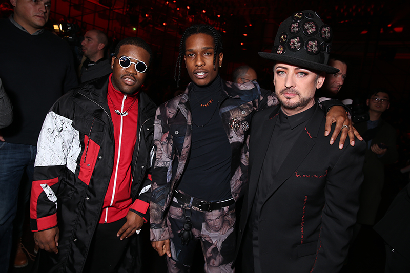 Star-Studded Gathering: Celebrities On Dior Homme's F/W 2017 Collection