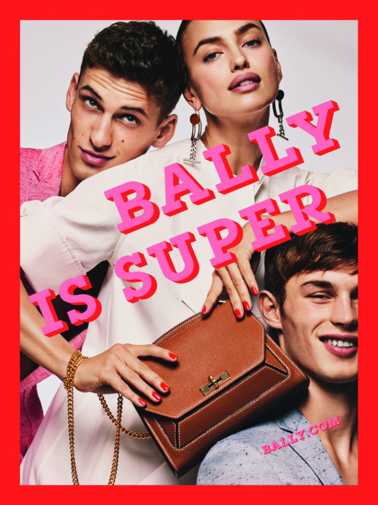 Bally Is Super In Spring/Summer 2017 Campaign