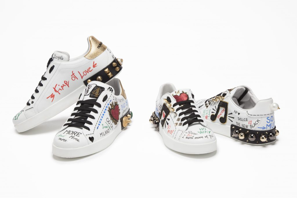 Dolce & Gabbana Releases New Sneakers for Spring/Summer 2017