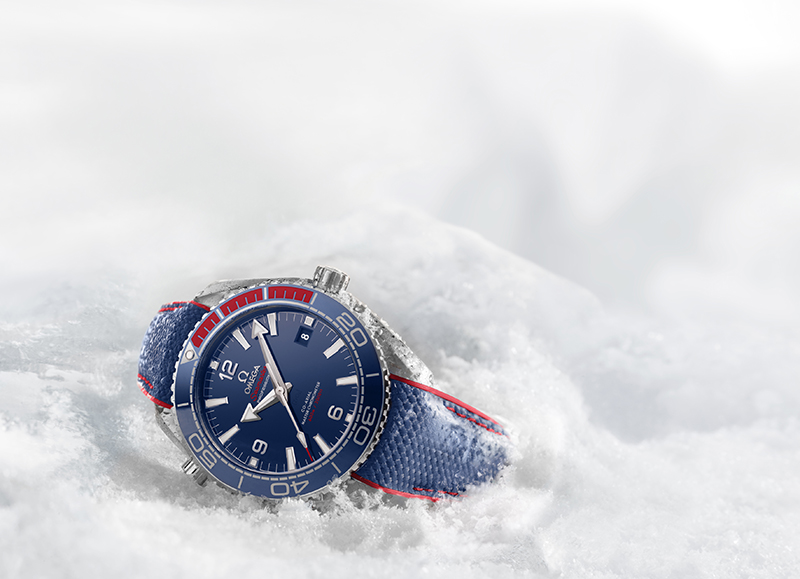 """Meet The Limited Edition Omega Seamaster Planet Ocean """"Pyeongchang 2018"""""""