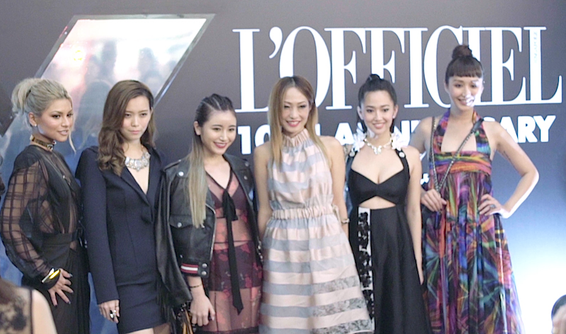 L'Officiel Singapore 10th Anniversary Rated X: Video highlights from the party