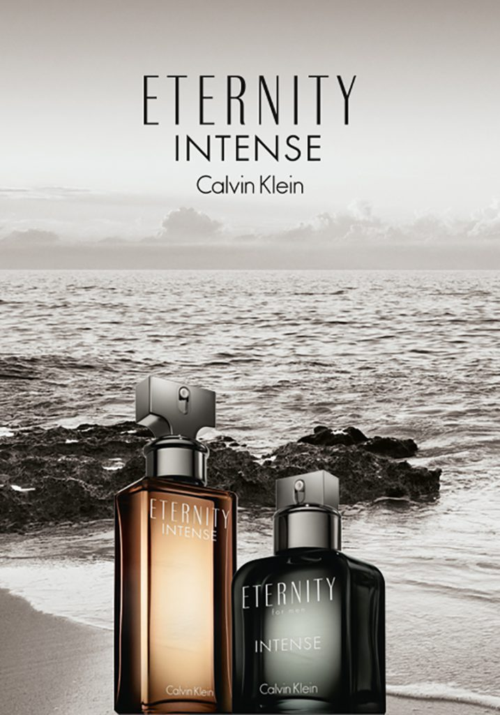 New cologne for men in Singapore: Calvin Klein Eternity for Men Intense is seductively sensual