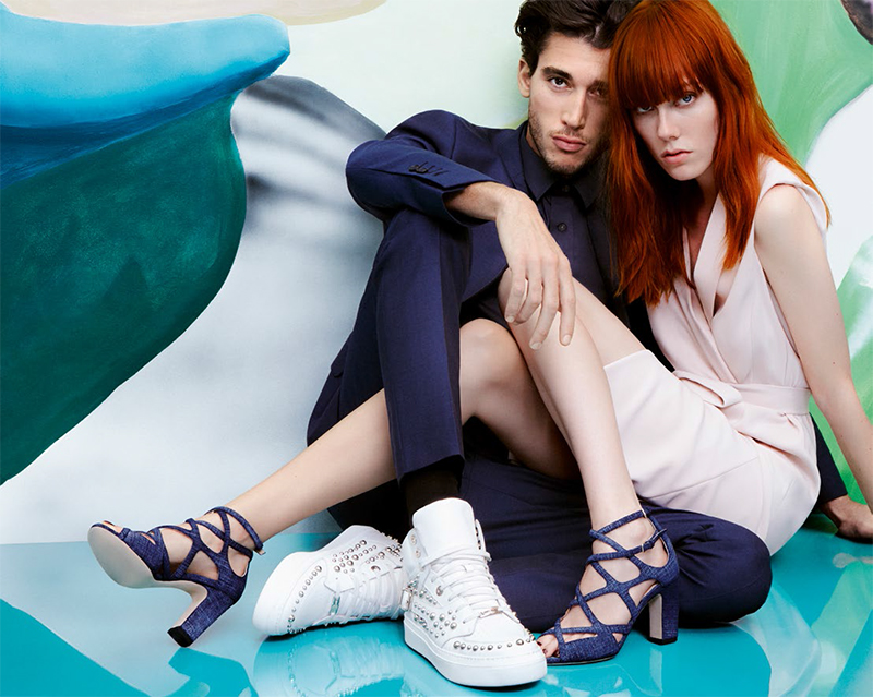 Jimmy Choo Men's Spring 2017: The luxury shoemaker's latest collection are made for rock and roll