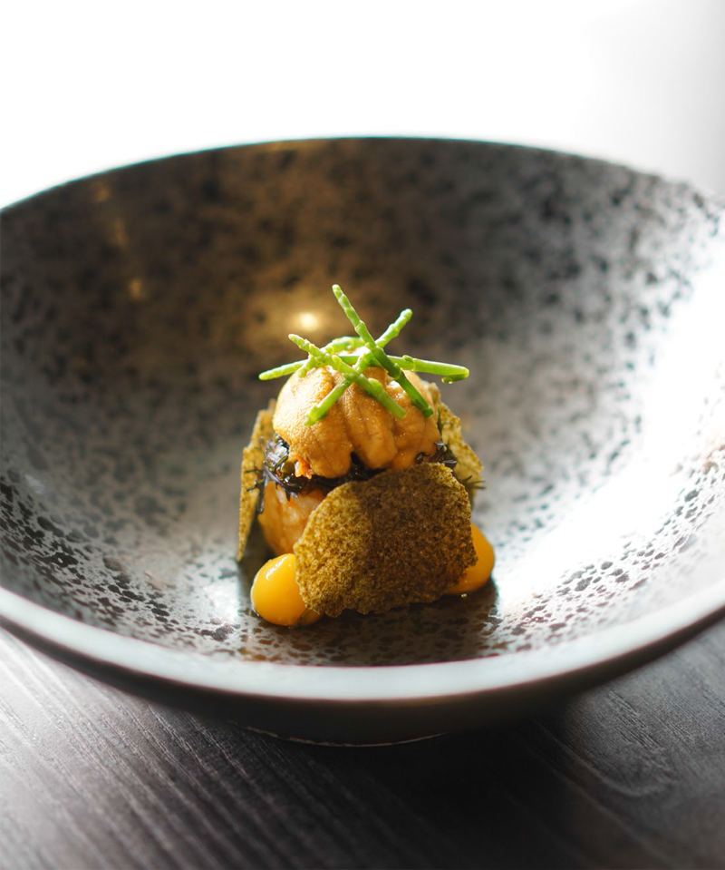 Meta Morphosis: French Cuisine with Modern Asian twist