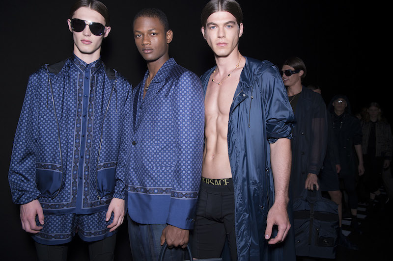 Versace Spring/Summer 2017: Slouchy pants, silk robes and more by Donatella Versace