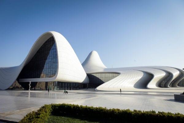 Heydar Aliyev Center. Image courtesy of Asian Development Bank.