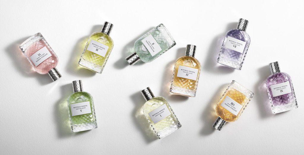 Bottega Veneta's Parco Palladiano Collection welcomes three new fragrances for Spring