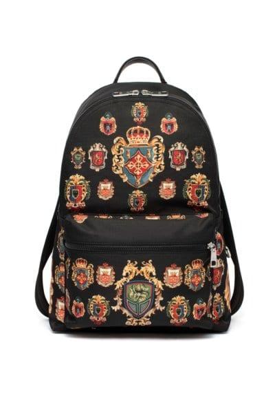 Dolce & Gabbana Emblem Motifs Backpack