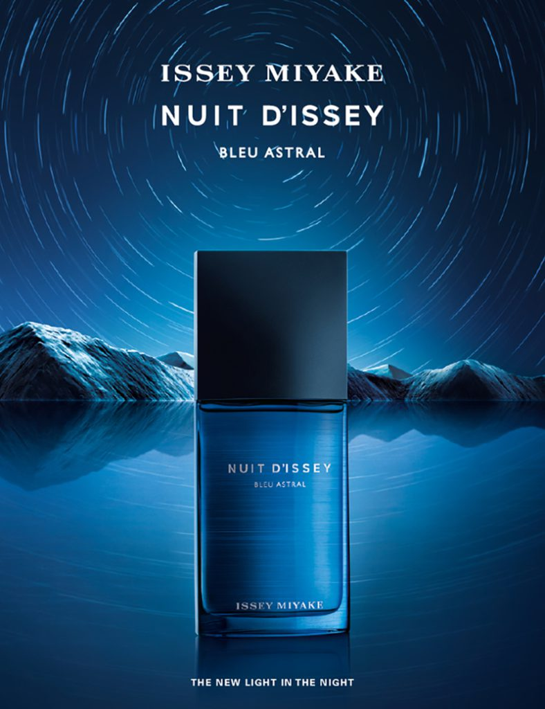 Journey to the moon with Issey Miyake's third fragrance NUIT D'ISSEY Bleu Astral