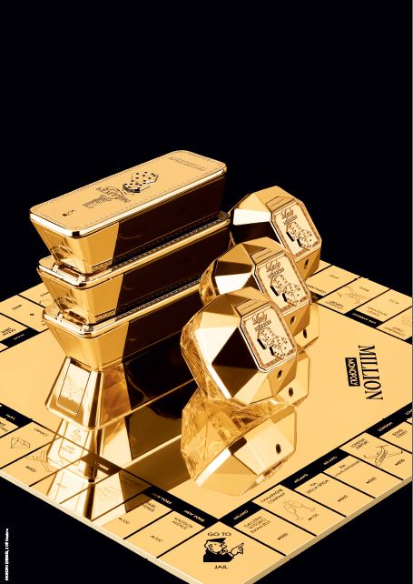 Paco Rabanne X Monopoly: An Indulgent Gold Collector's Edition for Fans