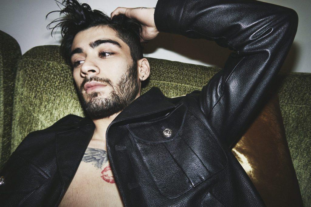 Zayn Malik fronts Versus Versace's new campaign shot by Gigi Hadid