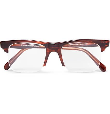 Kingsman + Cutler X Mr Porter And Gross Optical Glasses