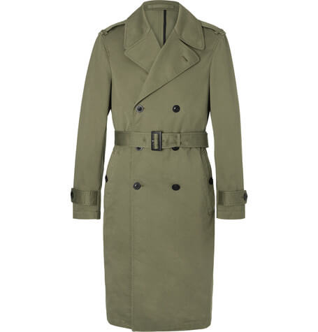 Joseph X Mr Porter Cotton-Twill Raincoat