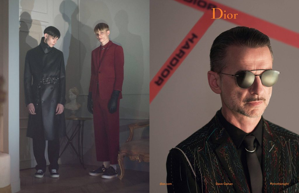 Depeche Mode's Dave Gahan stars in Dior Homme's Fall/Winter 2017 Campaign