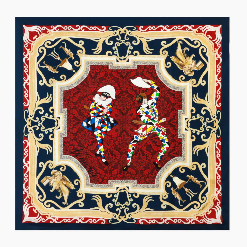 A Special Collection Of Scarves From Dolce & Gabbana