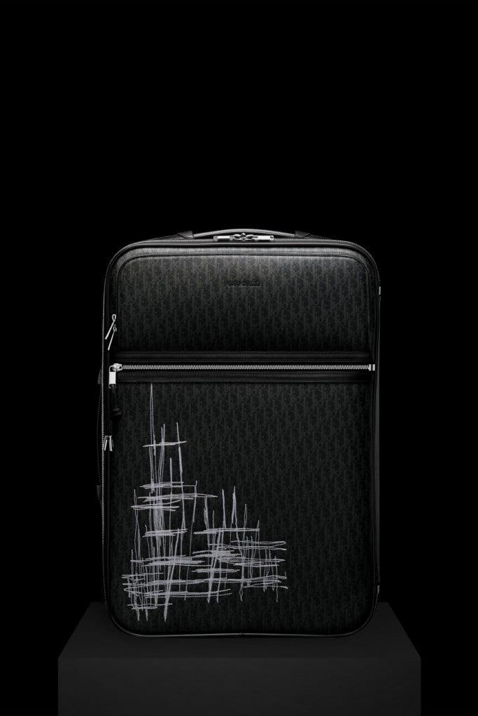 Dior Homme's New Dark Light Trolley Case