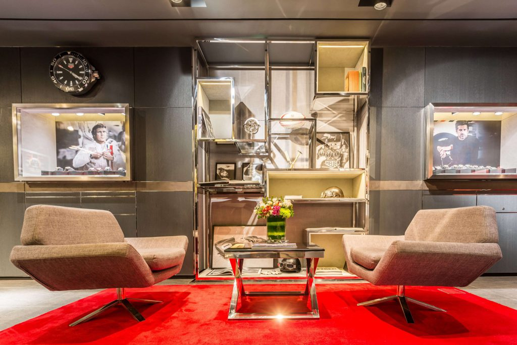 Tag Heuer At Ion Orchard Revamped With a Bold New Look