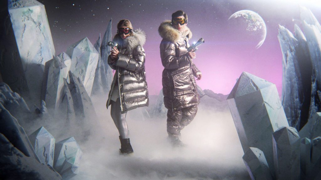 "Moncler's Fall/Winter 2017 Campaign ""MOONRAY"" is out of this world"