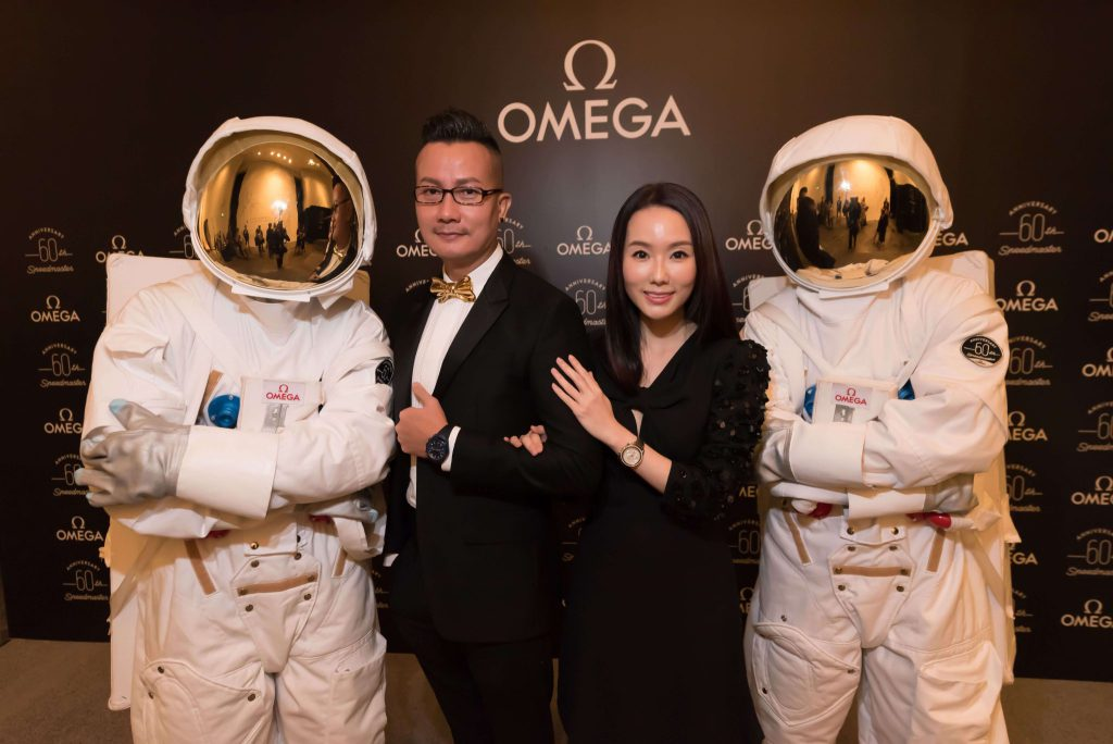 OMEGA travels through time and space to celebratesix decades of the iconic Speedmaster