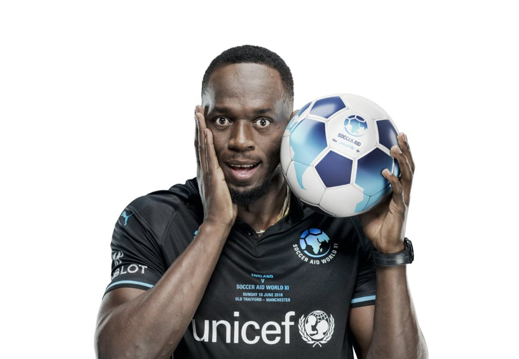 Hublot Supports Soccer Aid for Unicef