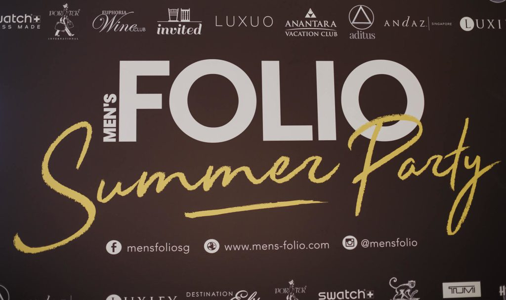 Men's Folio Summer Party'18