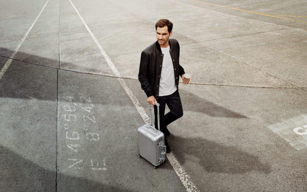 Roger Federer Champions Rimowa's 120th Anniversary Campaign
