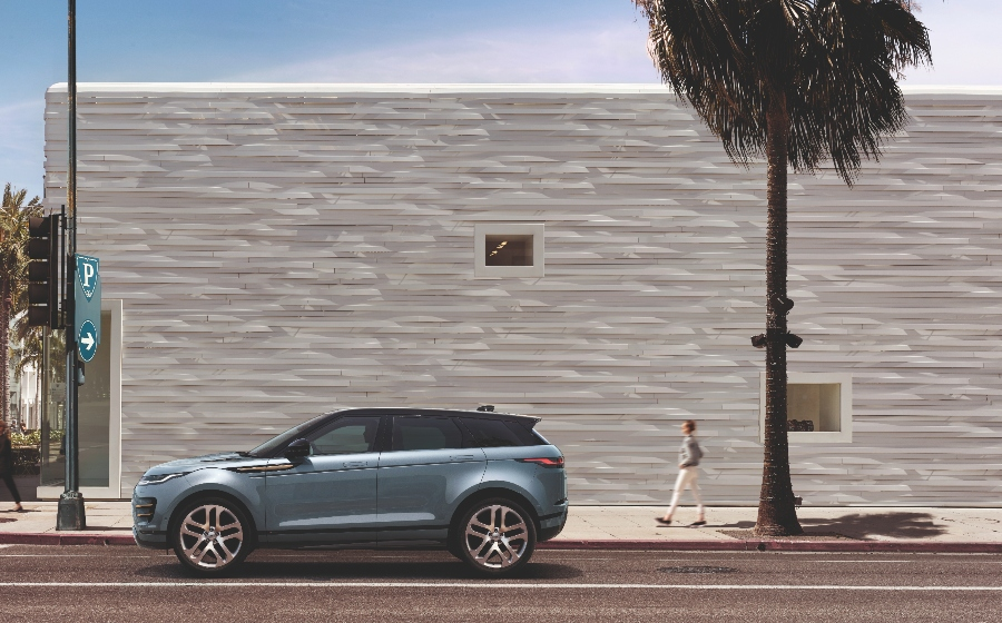 The New Range Rover Evoque is the Coolest Car Right Now