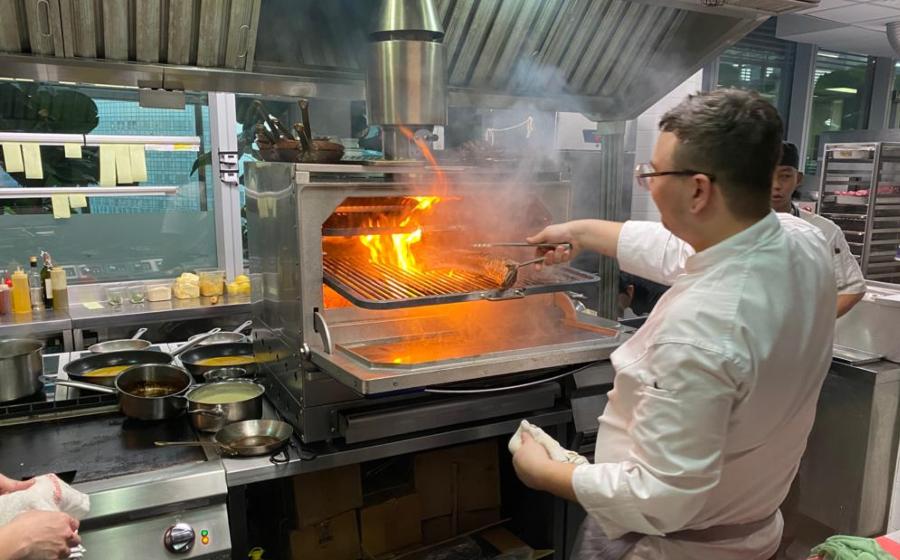 #MensFolioMeets the Head Chef of Zafferano, Chef Andrea