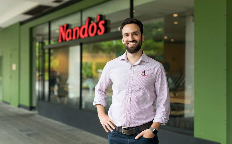 Moji Neshat, General Manager of Nando's Singapore Talks Heroism