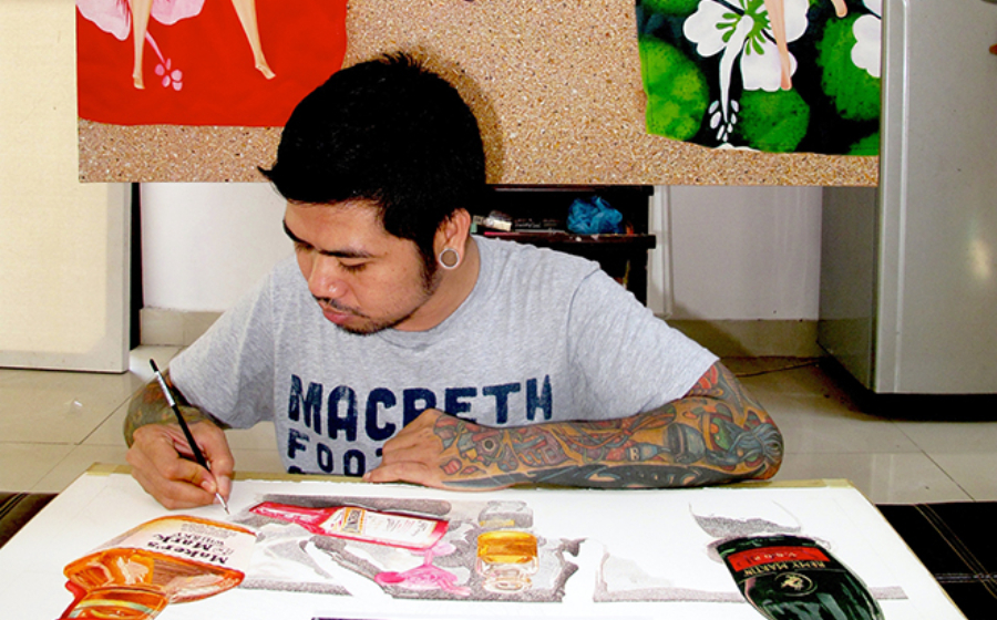 #MensFolioMeets the Balinese Artist Shattering our Capitalist Illusions, Dodit Artawan