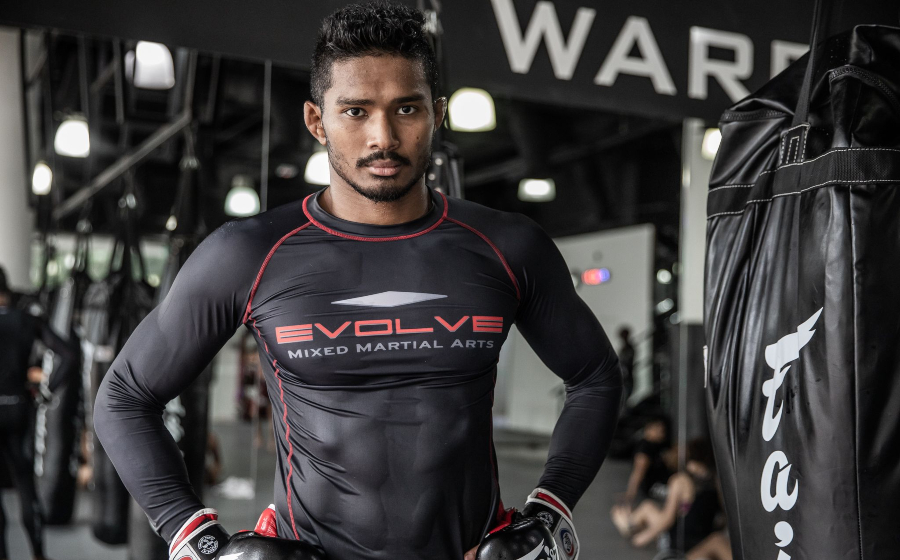 The Real Life Fight Routine of EVOLVE MMA Fighter Amir Khan